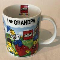 Lego Orlando I Love Grandpa Mug LegoLand Florida