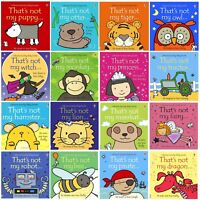 that's not my series Usborne Touchy-Feely baby Books, 0+ babies collection new