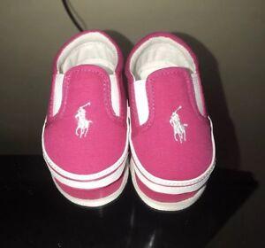 Polo Ralph Lauren Girls Layette Shoes