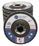 "10 Pack 4.5"" x 7/8"" Jumbo 80 Grit Zirconia Flap Disc Grinding Wheels T29"