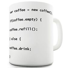 Coffee Code Funny Novelty Coffee Tea Mug