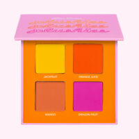 LIME CRIME PLUSHIES QUAD PALETTE FRESH SQUEEZED JACKFRUIT+ORANGE+MANGO+DRAGON LE