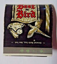 MATCH MATCHBOX BEEF N BIRD