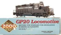 Ltd Ed PROTO 2000 8018 HO - NW NORFOLK & WESTERN EMD GP20 DIESEL LOCOMOTIVE 2008