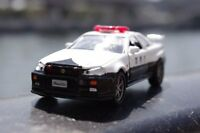 Diapet Japan DK-3101 1/43 Nissan Skyline GT-R (R34) Police Car