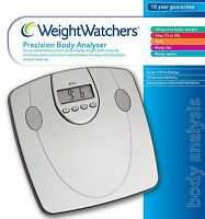 Weight Watchers 8991BU Precision Body Analyser Digital Electronic Bathroom Scale