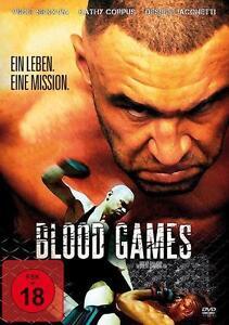 Blood Games -  DVD NEU/OVP FSK18!