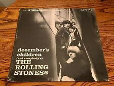 THE ROLLING STONES DECEMBER'S CHILDREN ORIGINAL FIRST PRESS LP STILL SEALED!