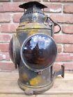 PENNSYLVANIA RAILROAD ADLAKE CHICAGO Antique Oil Lantern w Burner PRR lamp