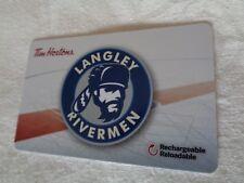 Tim Horton's - BCHL - LANGLEY RIVERMEN - Gift Card 2018 - New, Unused - FD62812