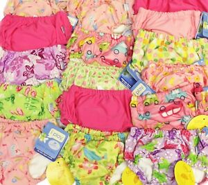 LOT 3 NEW iplay Baby Toddler Girl Ultimate Swim Diapers UPF 50+ Size 2T 24M
