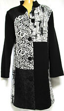 plus sz S / 16 TS TAKING SHAPE Decal Jacket ornate luxe chic coat NWT! rrp$200