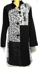 plus sz XXS / 12 TS TAKING SHAPE Decal Jacket ornate luxe chic coat NWT! rrp$200