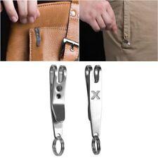 Polishing Suspension Clip Hook Keychain Key Ring Carabiner Quicklink Tool
