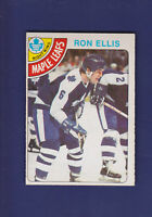 Ron Ellis 1978-79 O-PEE-CHEE OPC Hockey #92 (EXMT) Toronto Maple Leafs