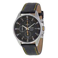 Seiko Chronograph Black Dial Men's Watch SNDC89P2