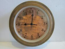 The Rumford Gardener Copper Wall Clock Works
