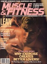 Muscle & Fitness October 1992 Ed Fox, Growth 060817nonDBE