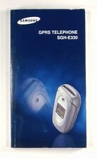 SAMSUNG GPRS TELEPHONE SGH-E330 - Original Instruction Manual - GH68-05553A
