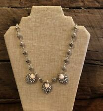 Plunder Design Jewelry TATIANA Necklace Pearls Pink Accents New