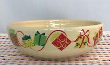 Fiestaware Christmas Gifts Medium Bistro Bowl Fiesta Ivory Exclusive NWT