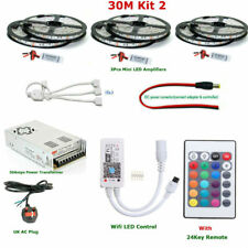 Control Remoto De Teléfono Inteligente WIFI Casa Mágica 5M - 40M 5050 rgbww IP67 LED Impermeable