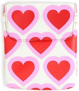 Upp Pink Hearts Ipad 2, 3 or 4th Generation Pouch Tablets Brand New