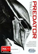 PREDATOR TRILOGY 1 2 3 : NEW DVD