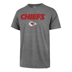 Kansas City Chiefs Men's Pregame Wordmark Logo T-Shirt - Gray