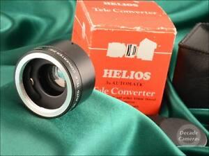 M42 Mount Helios 3x Converter inc Original Box - Excellent - 674