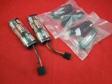 2 TRAXXAS iD Hump BATTERY iD connector nimh 8.4 v 3000 mah chargers batteries