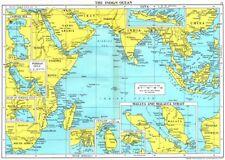 INDIAN OCEAN. Persian Sri Lanka Hooghly Singapore Malay Malacca Java 1971 map