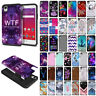 For LG Tribute HD/ LS676 X Style/ X Skin Silicone Hybrid Hard Rubber Case Cover