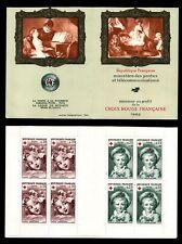 CARNET Croix Rouge 1962, Neufs ** = Cote 47 € / Lot Timbres France