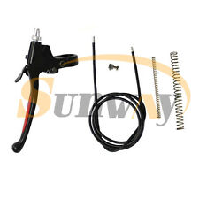Clutch Cable Brake Lever for Gas Motorized Bicycle Bike 50cc 60cc 80cc Engine