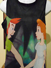 Disney Peter Pan and Wendy Women's Sleeveless Medium Top