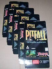 Atari Jaguar 64-Bit Games Console Original 4 x Pitfall Game Box NEW P/N: J9101E