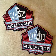 2 - NFL PRO FOOTBALL HALL OF FAME CANTON OHIO Logo Iron-on Jersey/Jacket PATCHES