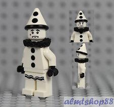 LEGO Series 10 - Sad Clown 71001 Minifigure Minifig Circus White Mime CMF