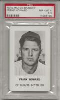 SET BREAK - 1970 MILTON BRADLEY FRANK HOWARD, PSA 8.5  NM-MT+, SENATORS, L@@K !
