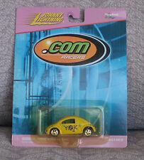JOHNNY LIGHTNING 2000 .Com Racers - Yellow Y2K VW Concept 1 - Volkswagen BUG