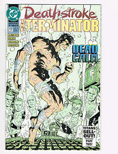 DEATHSTROKE, THE TERMINATOR, NUCLEAR WINTER INVASION PART 1 - 4 , #17, DEC. 1992