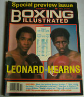 Boxing Illustrated Magazine Leonard-Hearns October 1981 082712R1