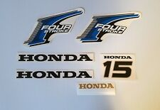 Honda 15 hp 4-Stroke Outboard Decal Kit - USA free fast shipping