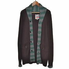PEPE JEANS LONDON HERITAGE Cardigan Boutonné Long Pull Maille M Medium