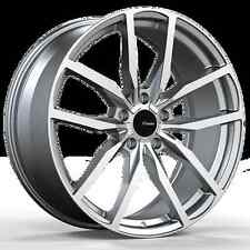 18x8 Rims Advanti Racing Rasato 5x112 +35 Machined Wheels Fits Audi A4 A5 A6 A8