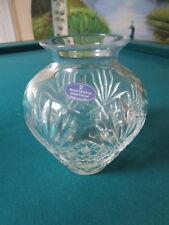 "Royal Doulton Crystal Westminster Round Greek Vase 6 1/2"""