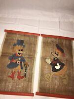 1970s-Vintage Disney Wall Art-Donald Duck/Uncle Scrooge