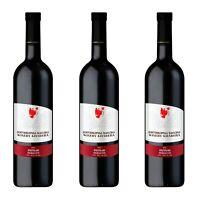 3 x 0,75 Georgischer Wein Mukuzani Khareba Rotwein trocken 0,75 l #18