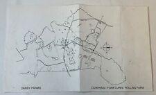 1999 THE PATRIOT original movie LOCATION MAP